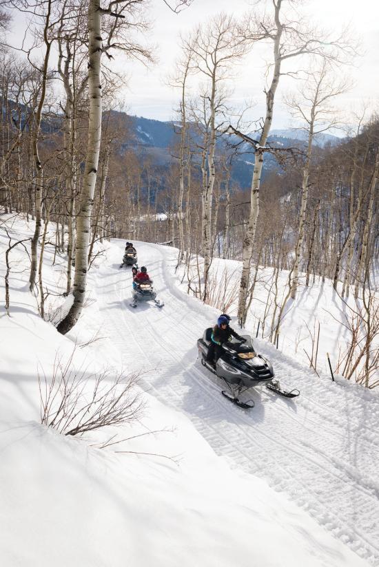 RR Snowmobiling