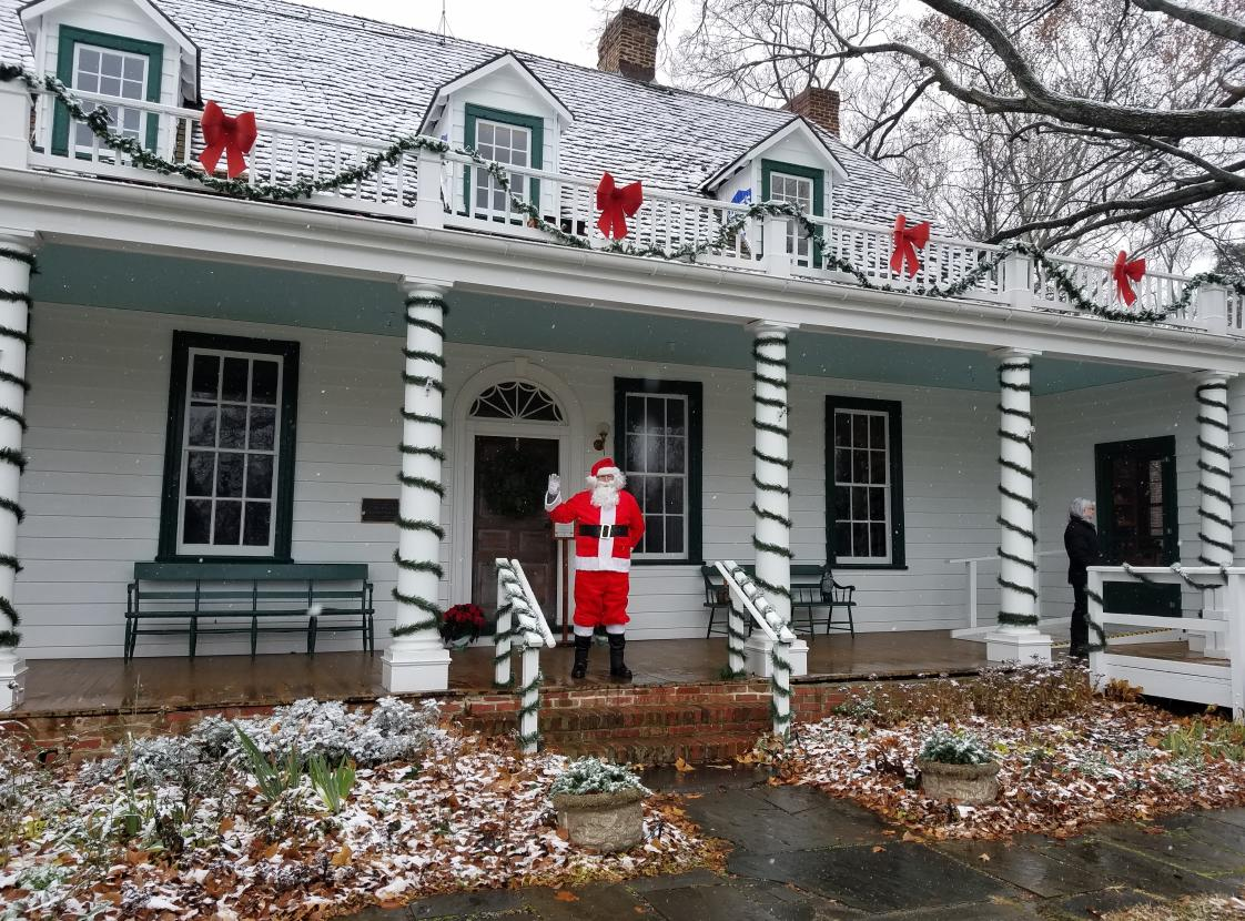 Santa comes to Rippon Lodge