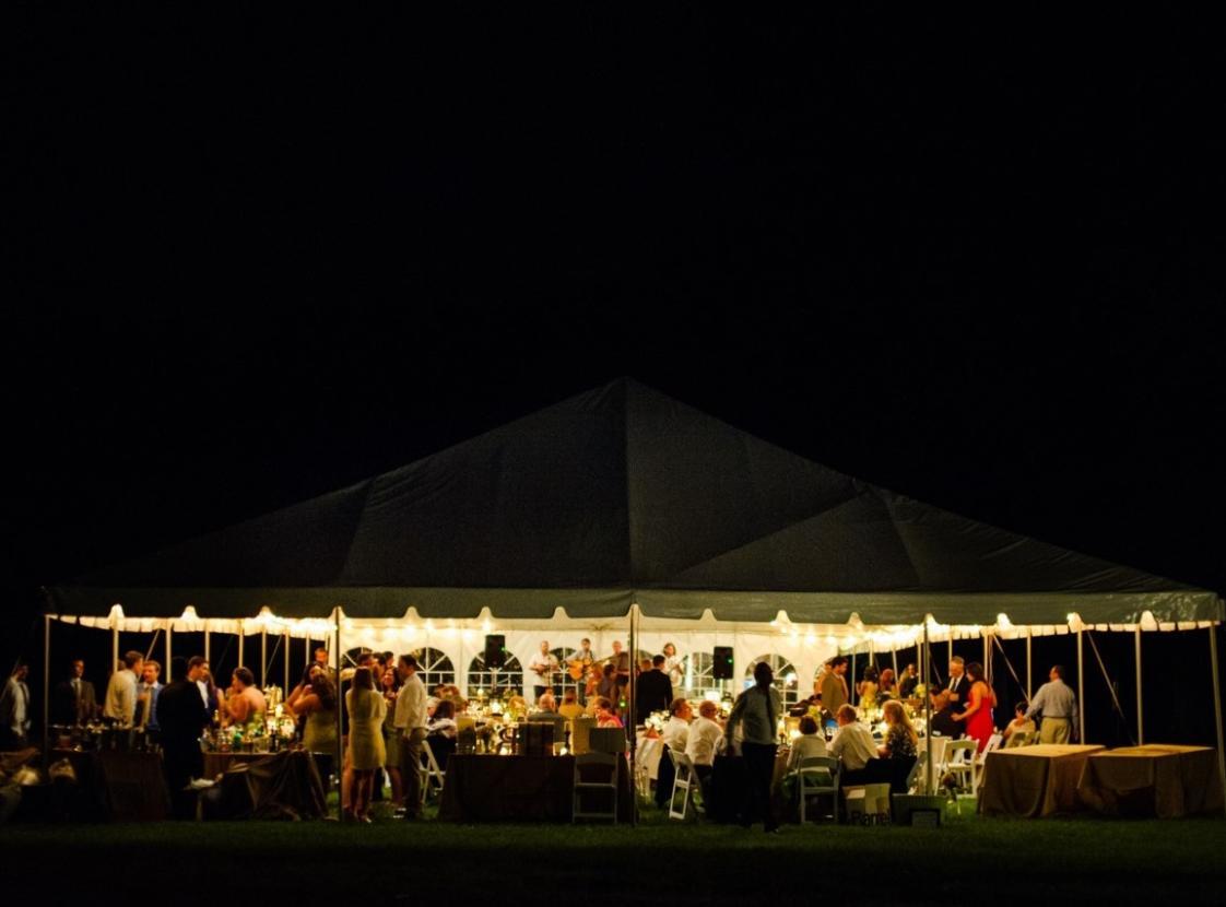 Evening Reception at Rippon Lodge