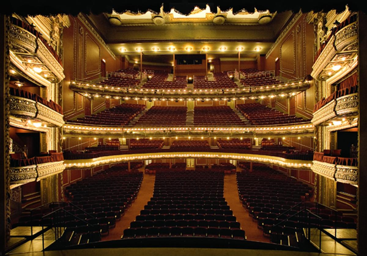 Bank of America theater interior