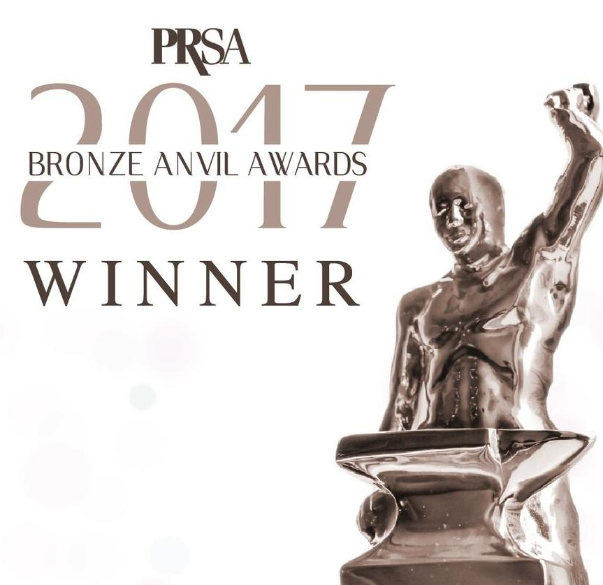 PRSA Anvil Award Winner Logo 2017