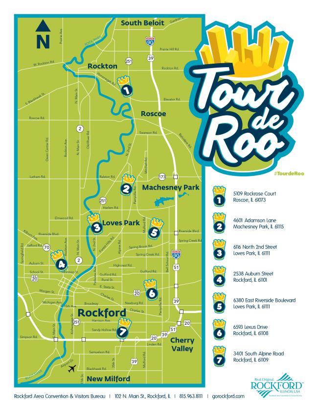Tour de Roo map