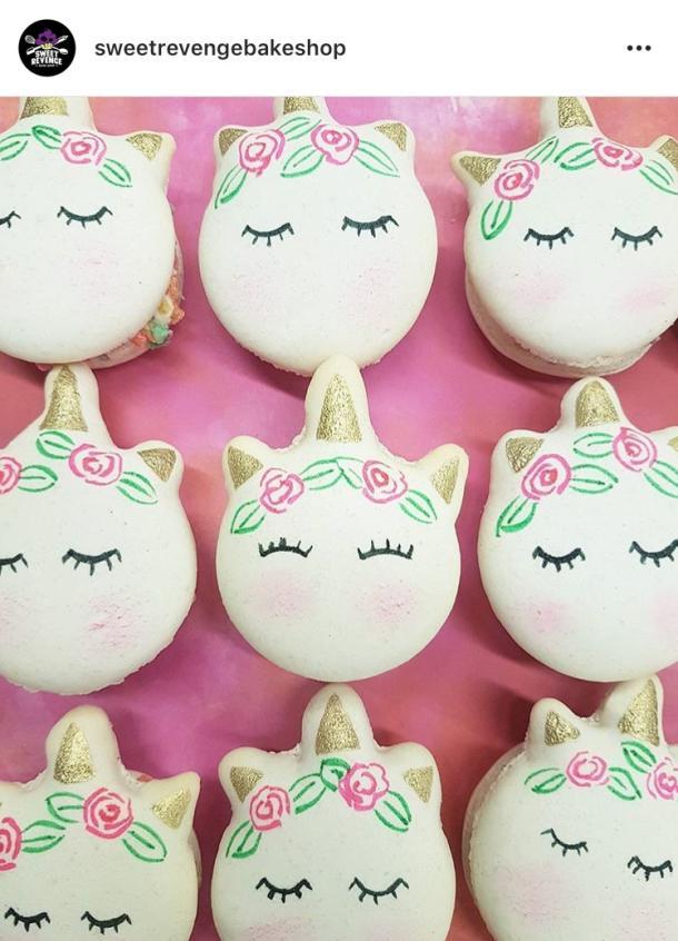 Sweet Revenge Bake Shop Unicorn Cookies