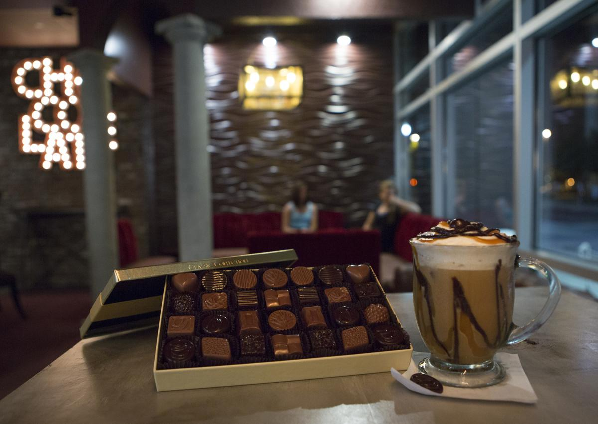 DeBrand Fine Chocolates Coffee - Downtown Fort Wayne Location