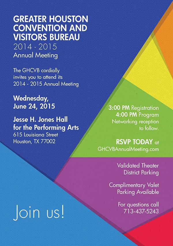 2015 Annual Meeting Invite