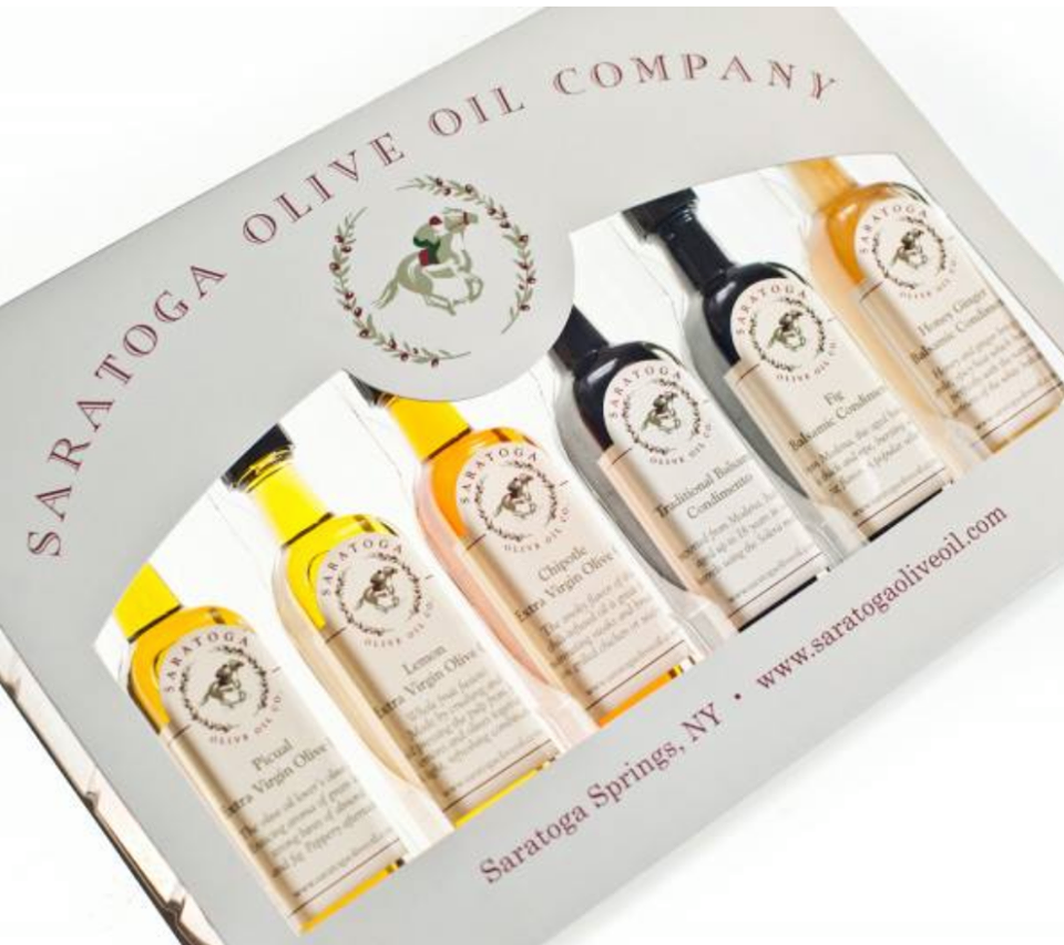 Saratoga Olive Oil Gift Set