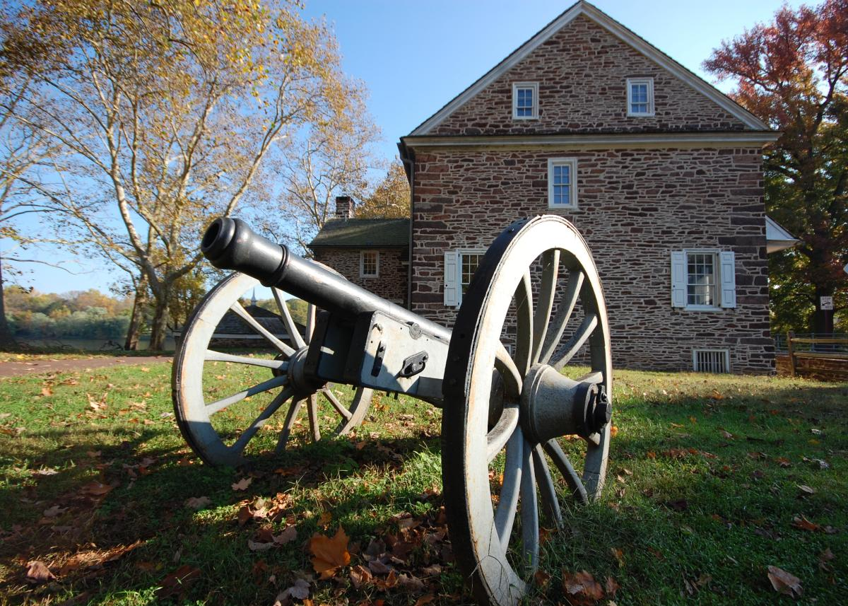 Washington Crossing Historic Park cannon
