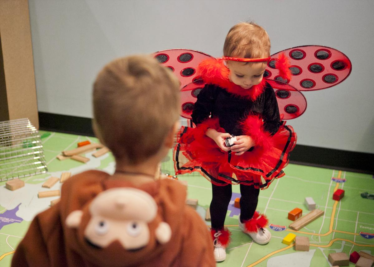 Halloween Spree at the Glazer Children's Museum