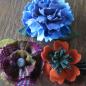 Fancy Felted Wool Flower Workshop