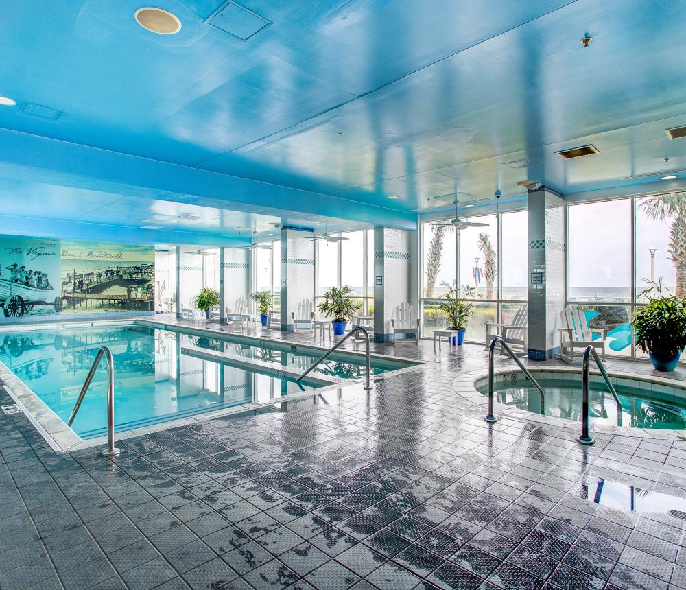 Indoor Oceanfront Pool