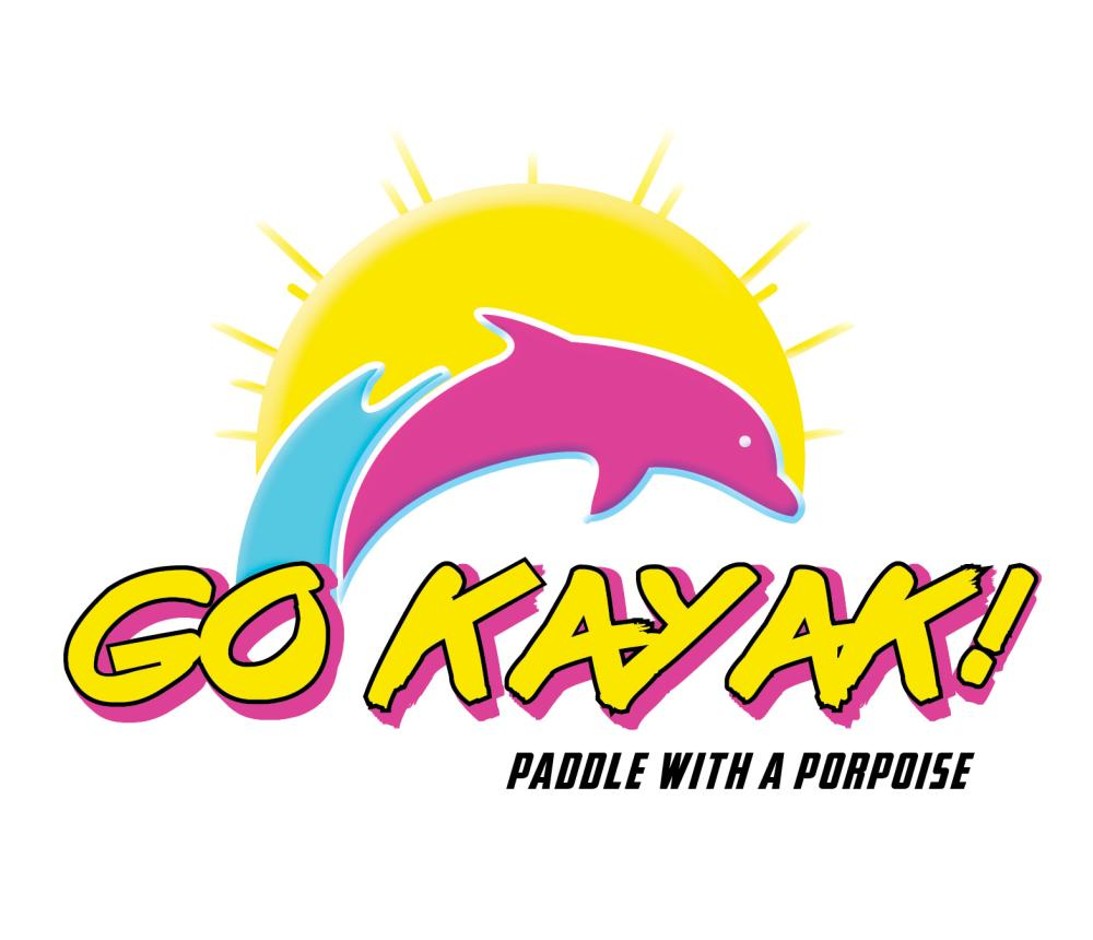 Guided kayak dolphin tours out of Rudee inlet in Virginia Beach