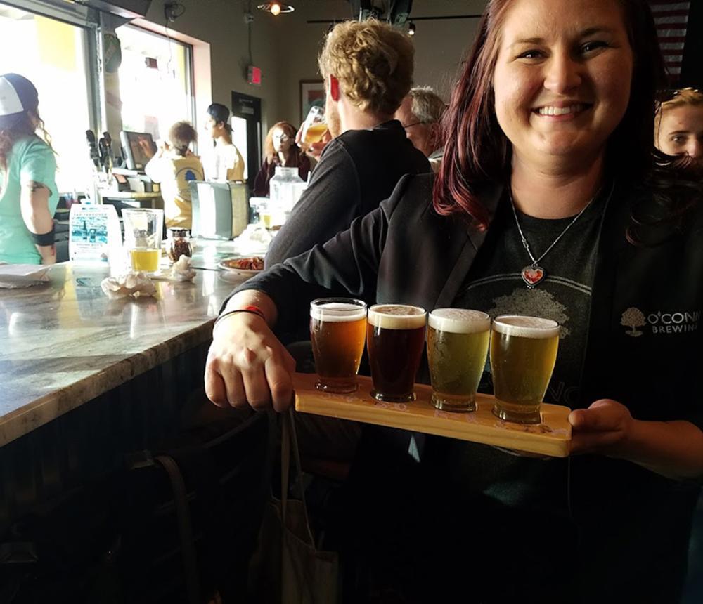 DB flight of beers