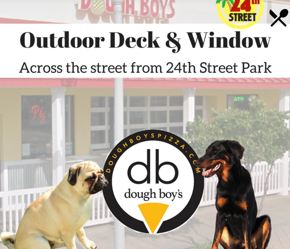 Dog Friendly Outdoor Patio