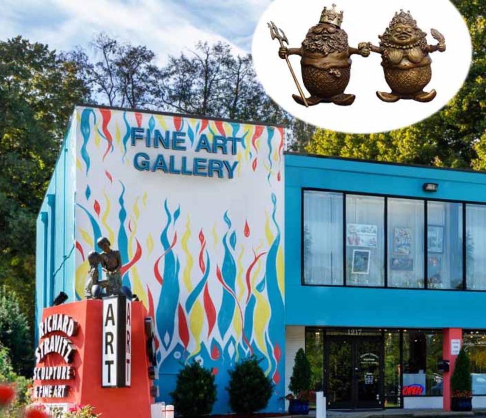 Stravitz Art Gallery exterior