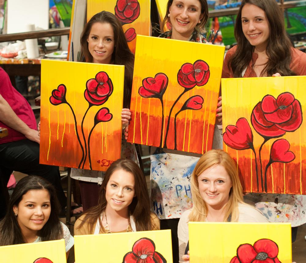 Paint Night at Muse Paintbar