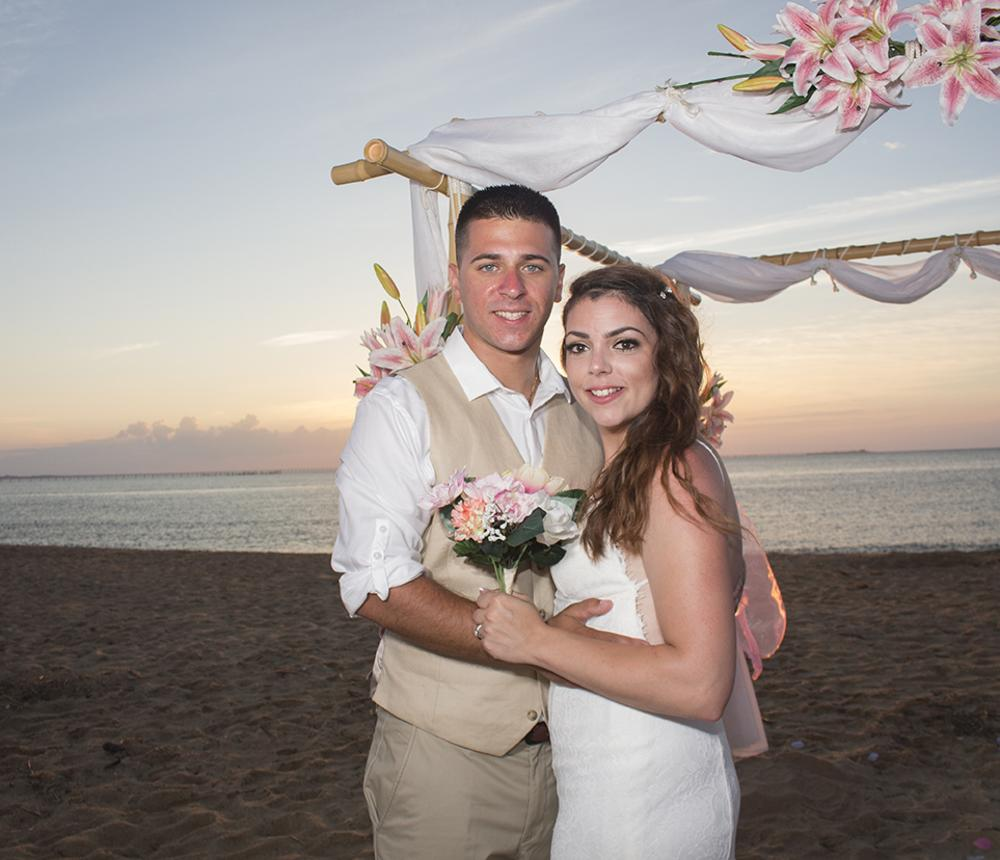 A Sunset Wedding for Two