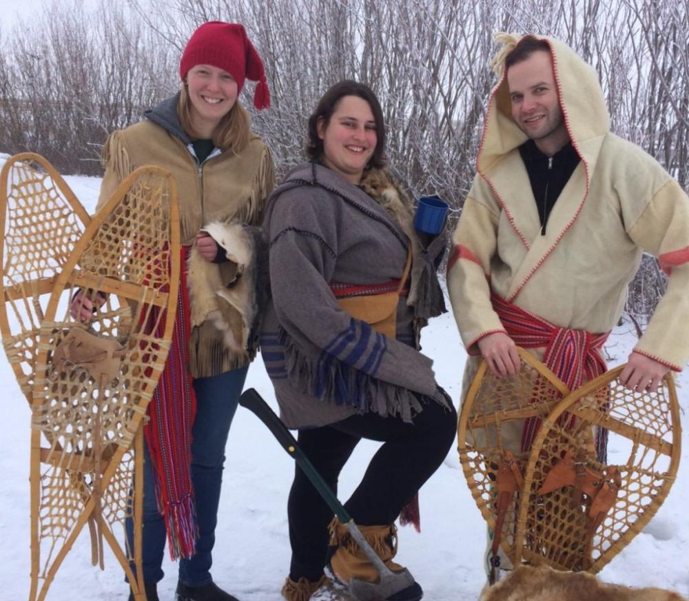 Voyageur Day at Oak Hammock Marsh