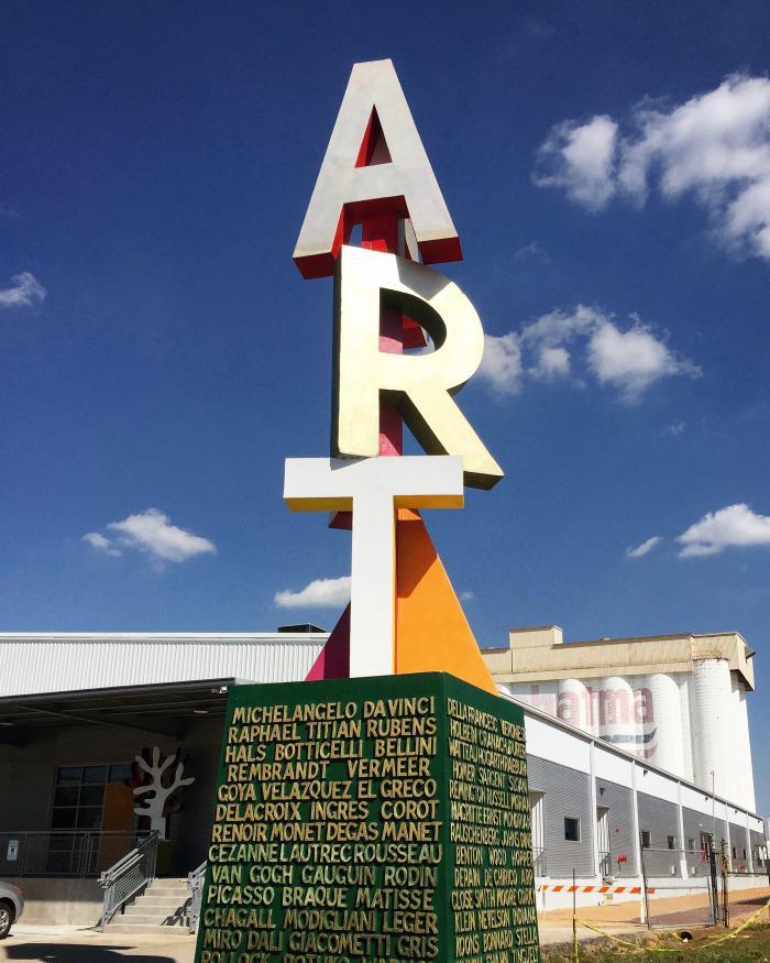 Adicks Art Sculpture