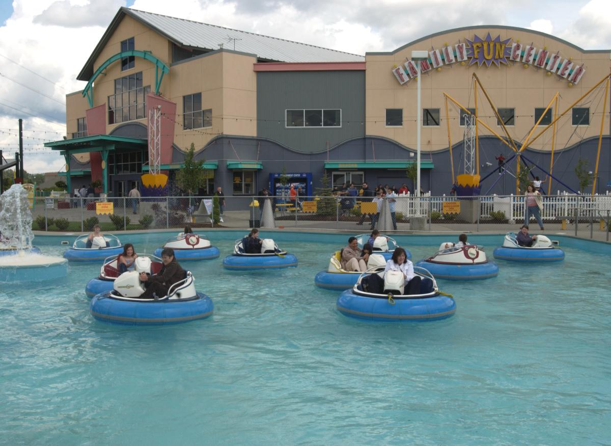 Family Fun Center Bumper Boats