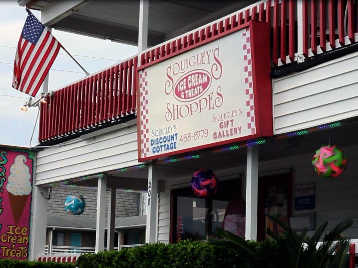 Squigley's Ice Cream & Treats in Carolina Beach, North Carolina