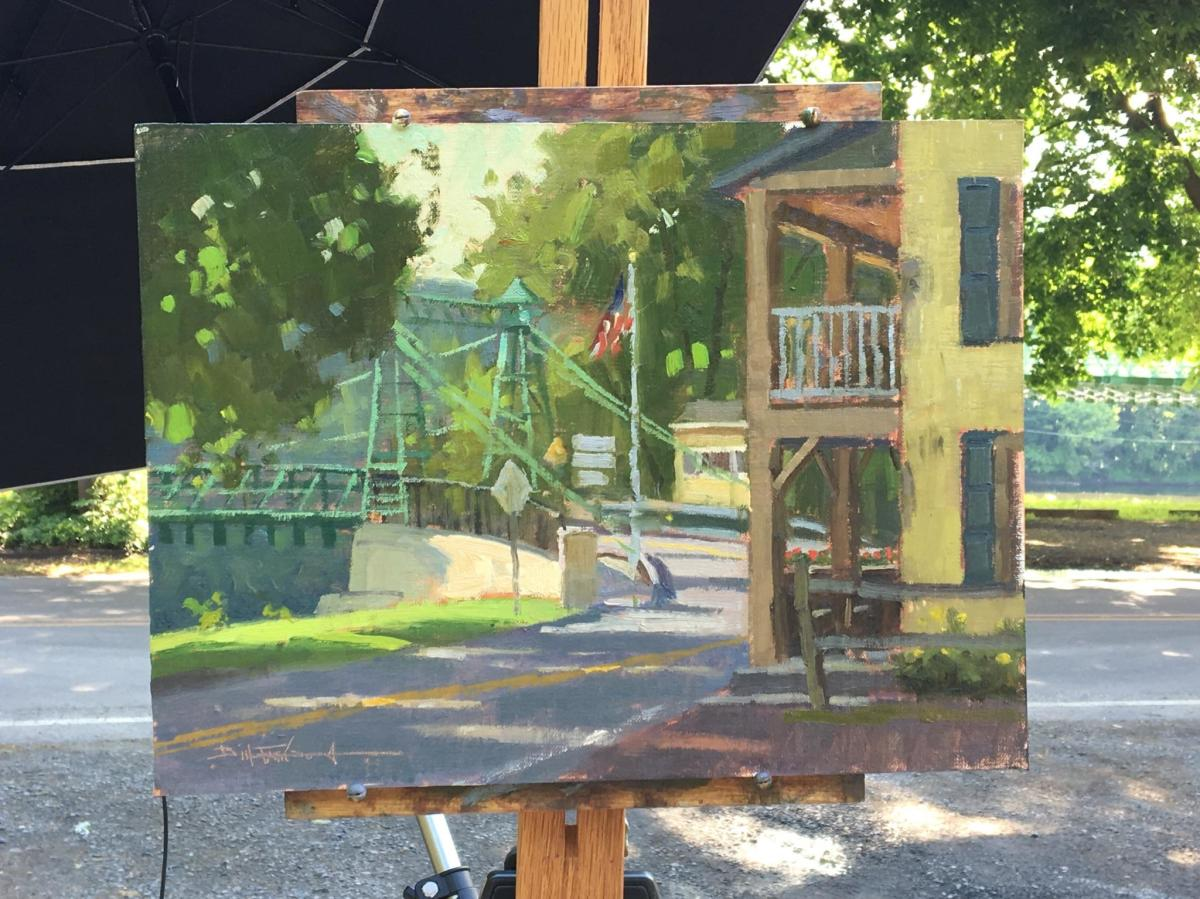 Plein Air Art by Hiu Lai