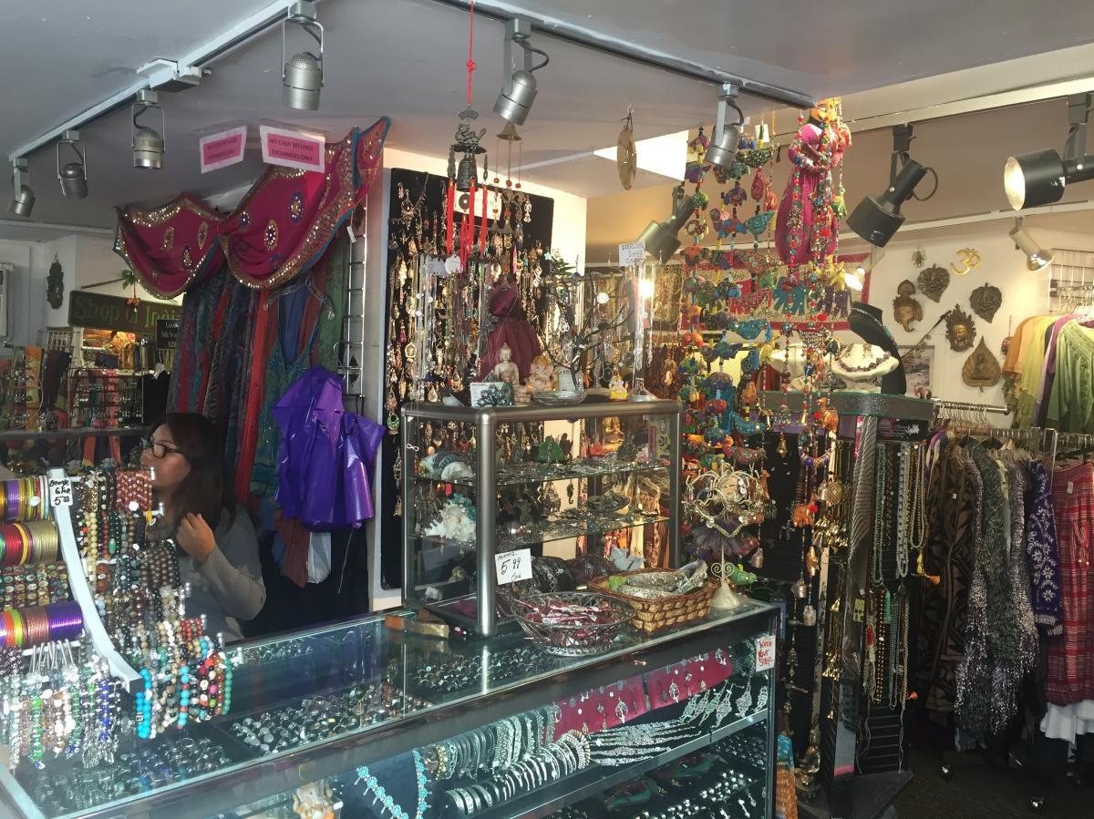 Shop of India interior