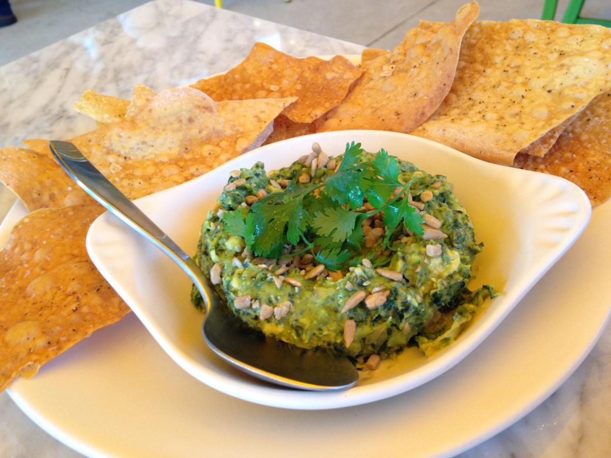 True Food Kitchen Kale Guacamole
