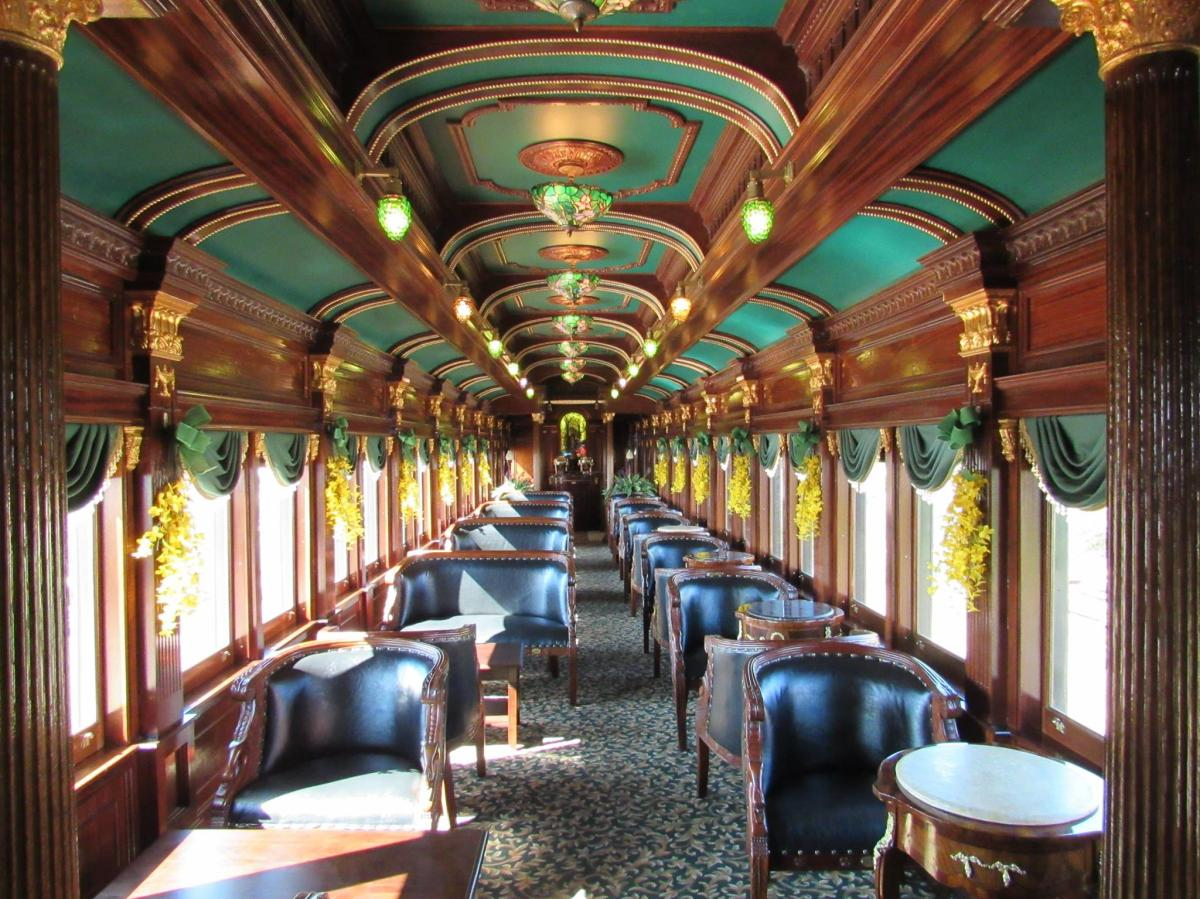Colebrookdale Railroad Parlor Car