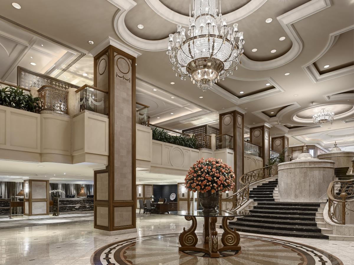 The Langham Melbourne, Lobby