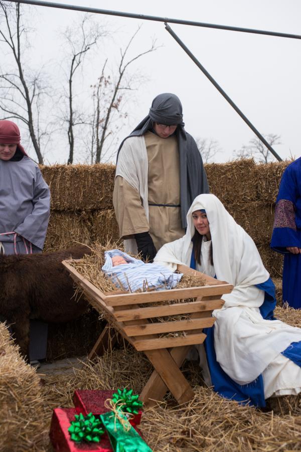 USF Living Nativity