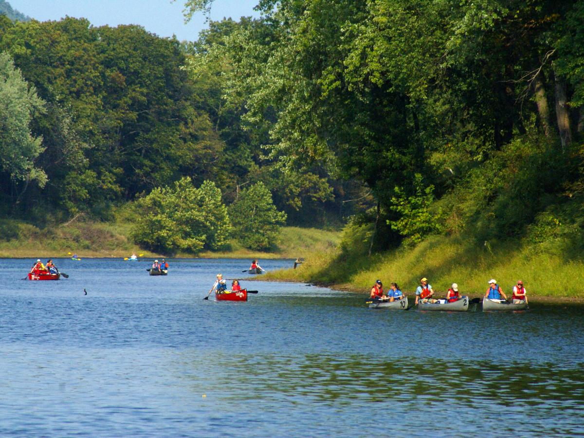 Take Part in a Seven-Day Guided Pocono Mountains Paddling Trip