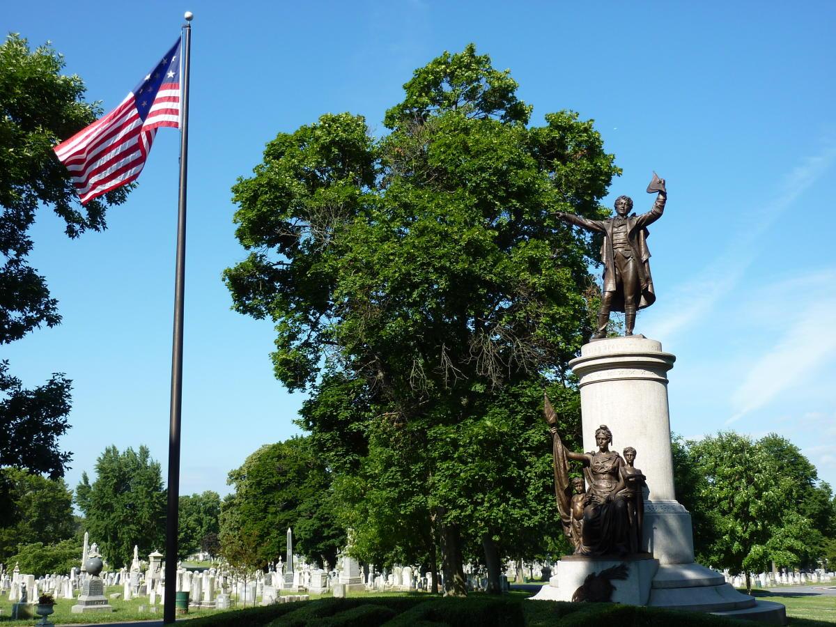Mount Olivet Cemetery Francis Scott Key Monument