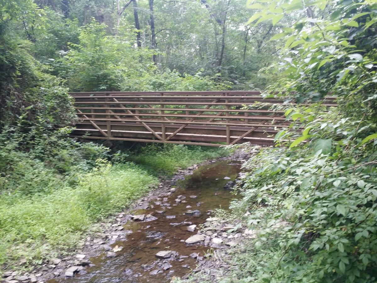Bradford Dam bridge