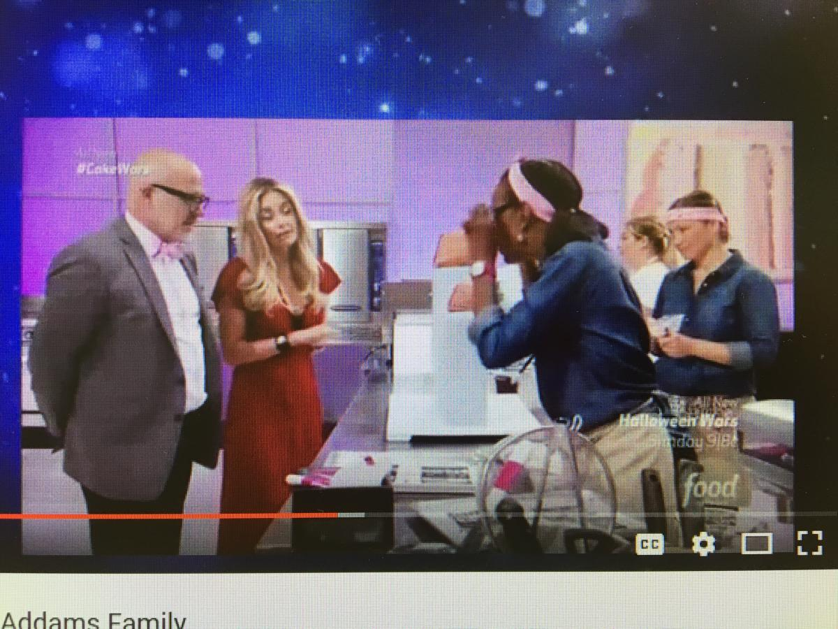 Colleen Kriebel on Cake Wars
