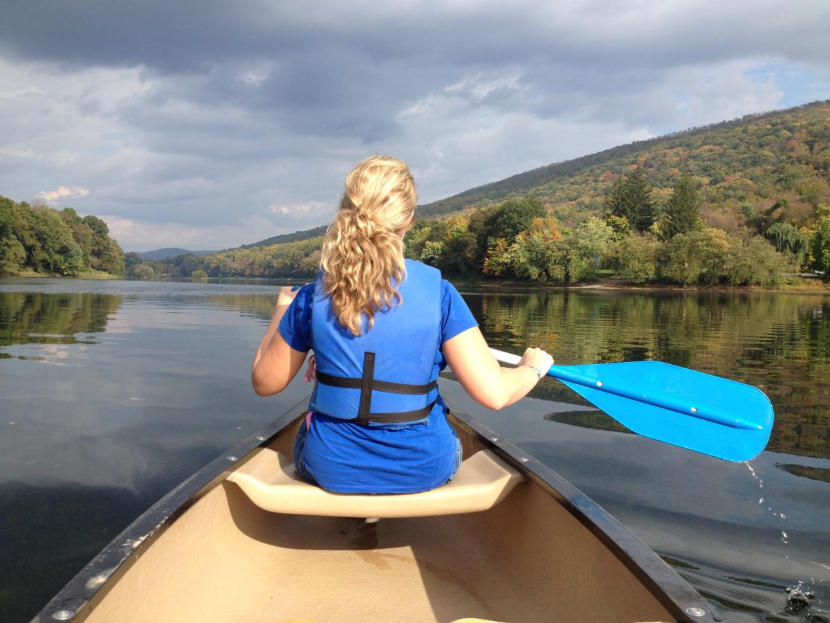 Take in the Fall Foliage on a River Trip in the Pocono Mountians