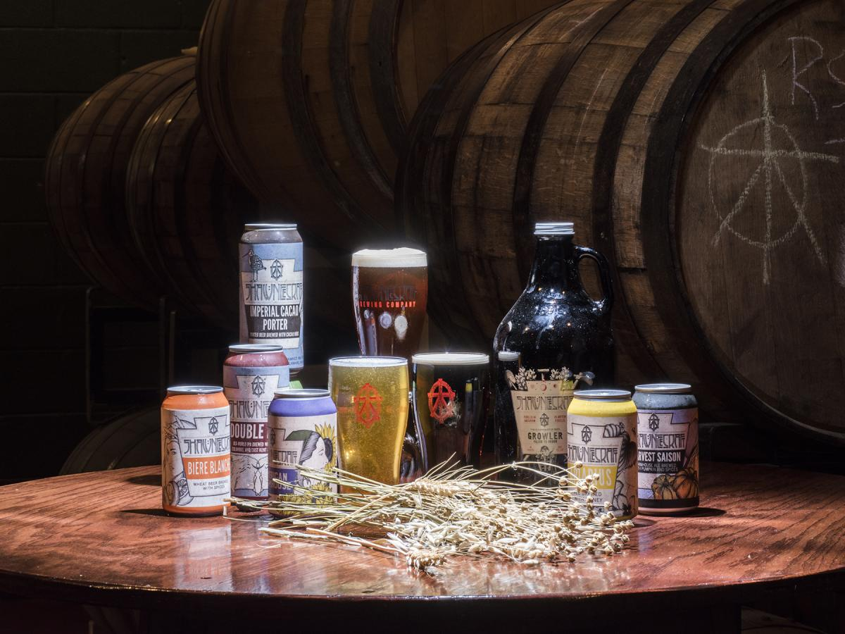 Shawnee Craft Brewery in the Pocono Mountains