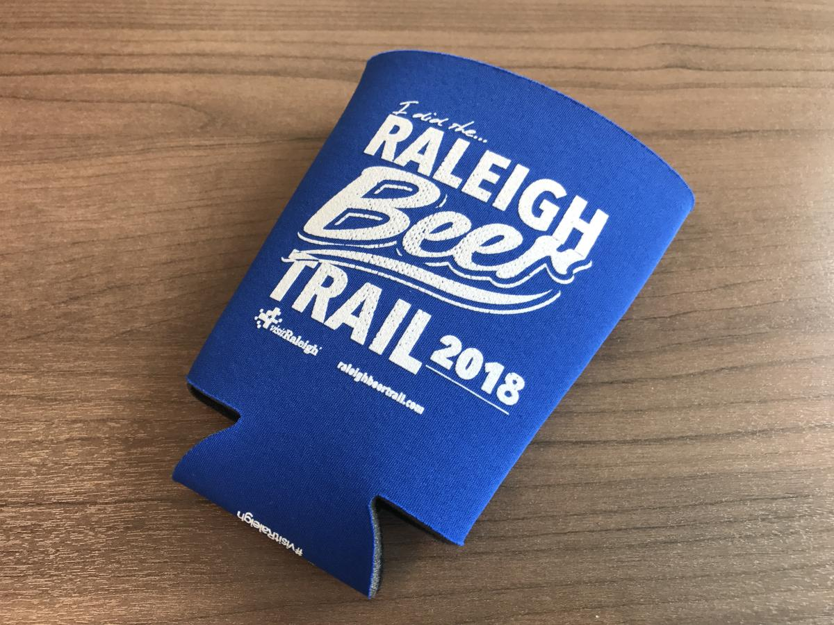RBT pint glass koozie