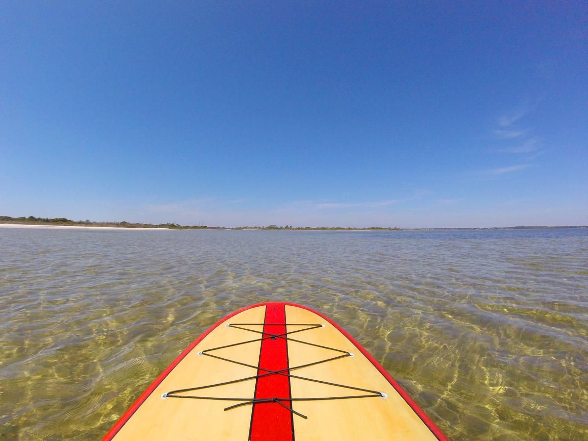 Big Sabine Bay on Paddleboard