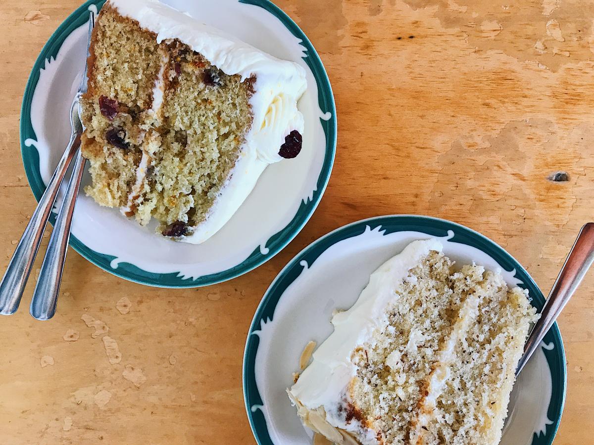 Garnett's Cafe cake