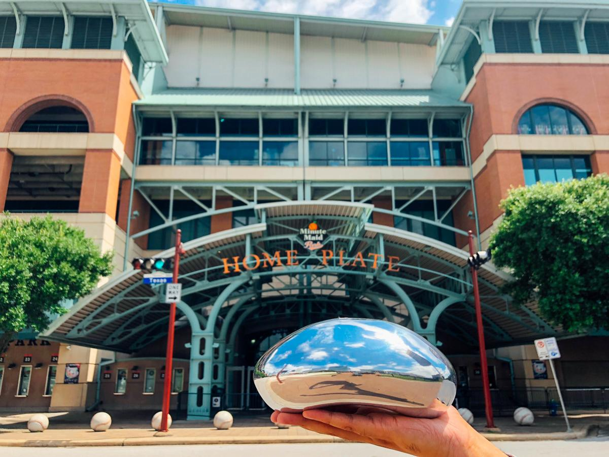 Chicago Bean at Minute Maid Park