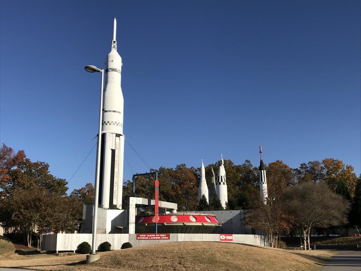 U.S. Space & Rocket Center G-Force