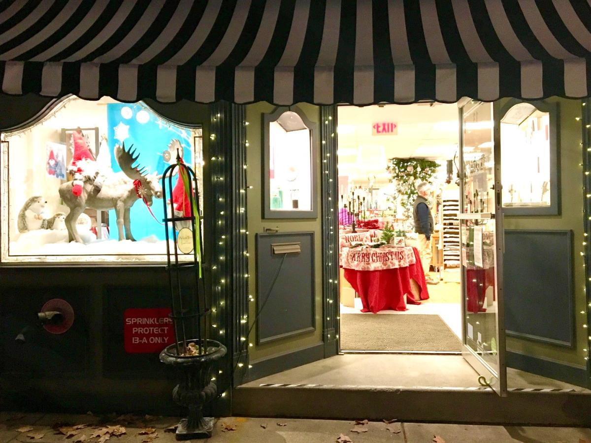 Holiday Storefront