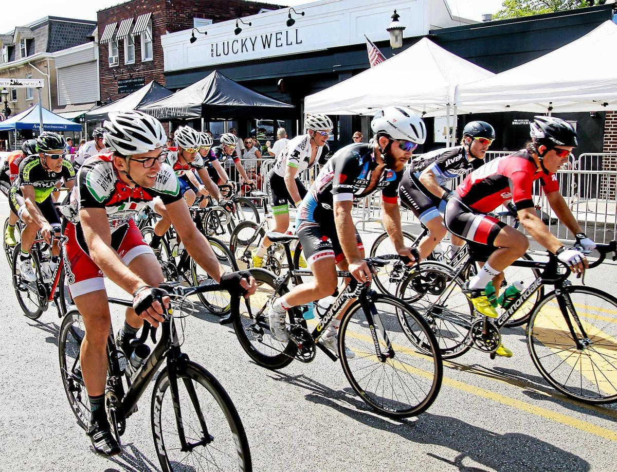 The Ambler Bike Race attracts the best riders from the region to compete in criterion races on the streets of downtown Ambler.