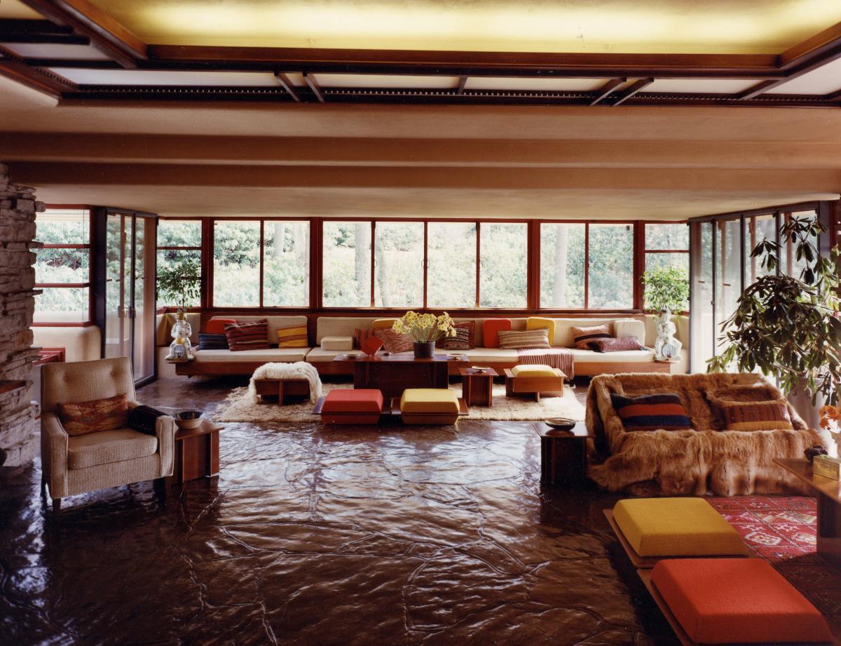 Fallingwater Interior