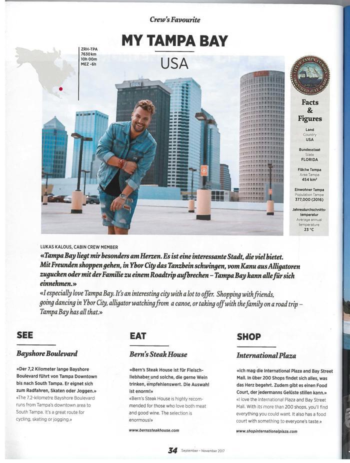 Edelweiss In-Flight Magazine