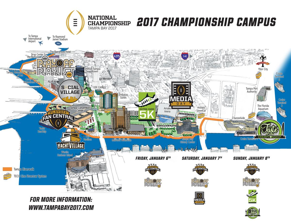 CFP Riverwalk Map