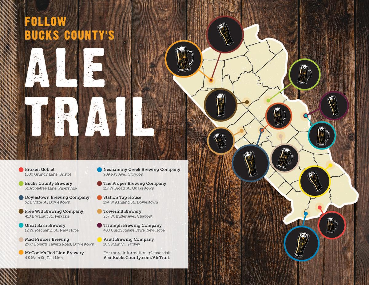 Ale Trail Map