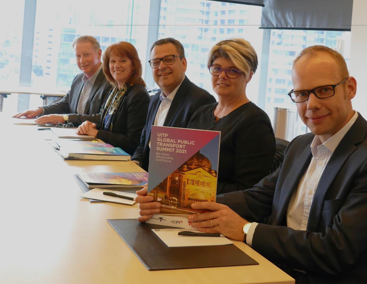 Global Public Transport Summit signing UITP