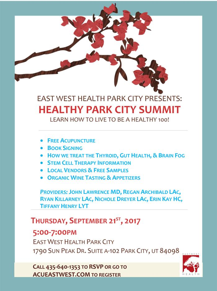 East West Event September 2017