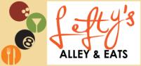 Lefty's Alley and Eats Logo